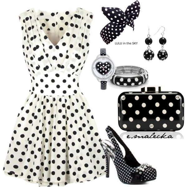 Back to the sixties by eva-malecka on Polyvore