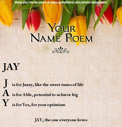 Acrostic Name Poem Acrostic Poem For Your Name How To Be