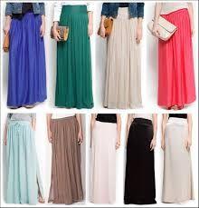 f057274fd faldas largas elegantes para jovenes - Buscar con Google | moda; que ...