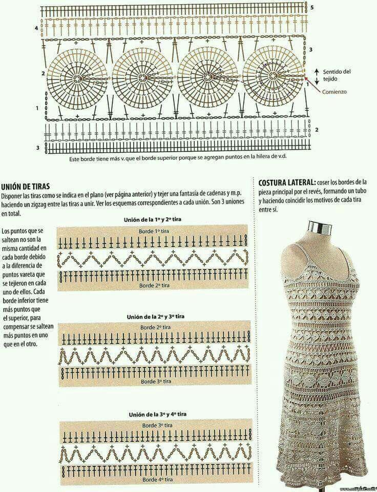 Pin de ana en GANCHILLO CIRCULAR Y MAS | Pinterest | Vanessa montoro ...