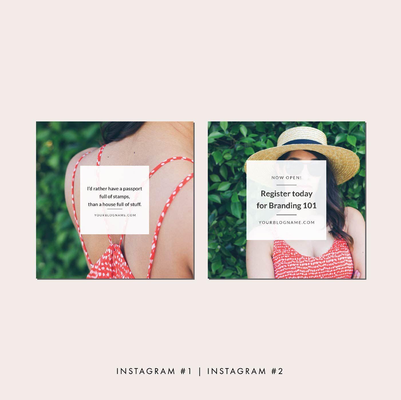 Blog Post and Social Media Templates, Blog Post Graphics, Blog ...