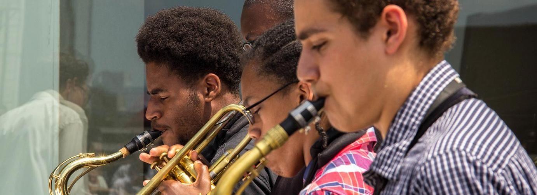 J C Heard Jazzweek Wayne Redefines The Summer Music Camp Concept To Teach Students Jazz Improvisation Theory And Ense Music Camp Wayne State University Wayne