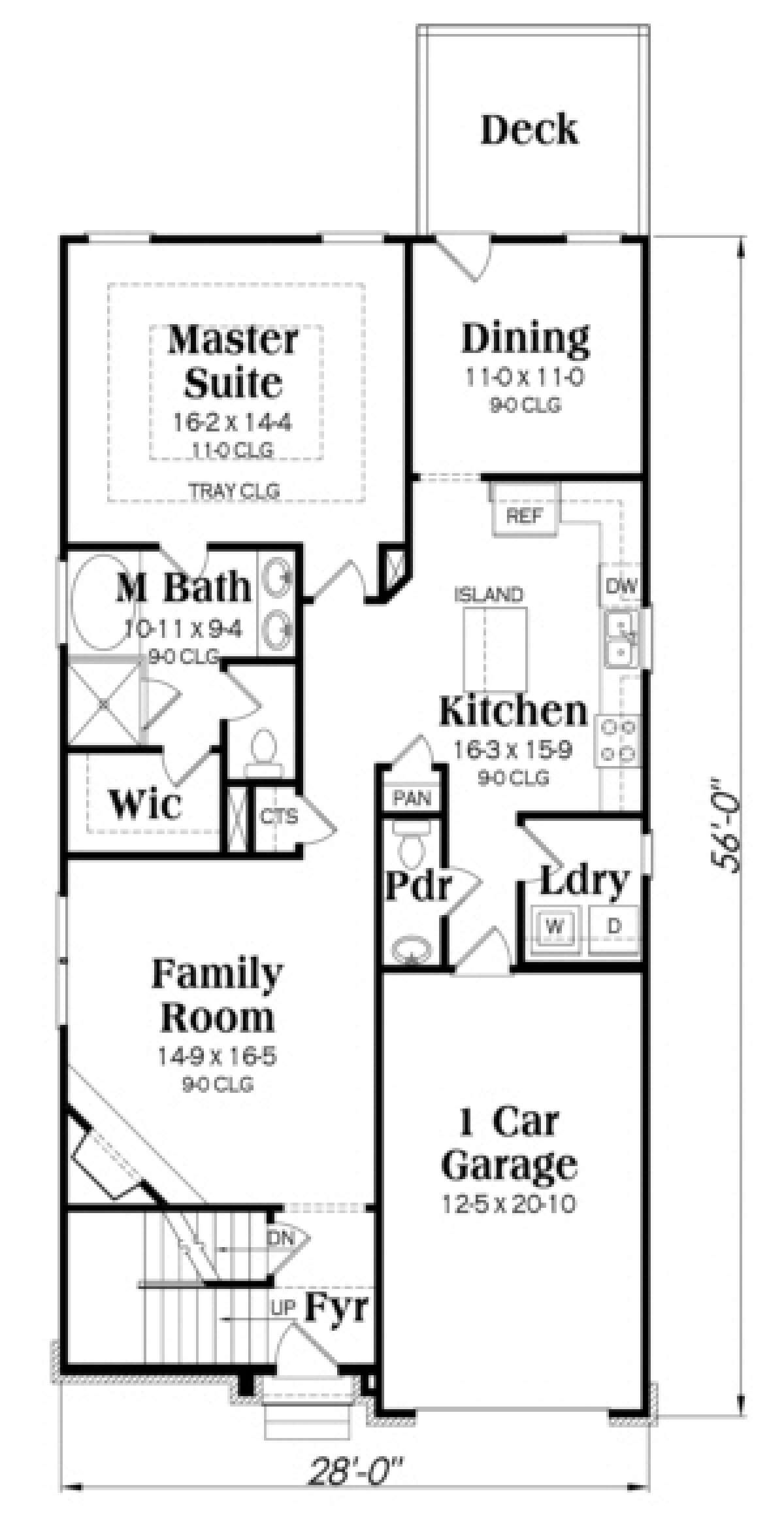 House Plan 009-00127 - French Country Plan: 2,274 Square ...