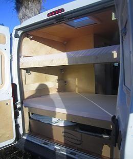 Peugeot Boxer Camper Van Conversion Diy Camper Conversion Diy