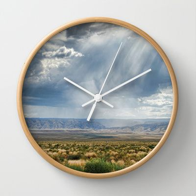 Storm coming Wall Clock by Claude Gariepy - $30.00