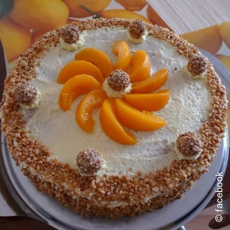 Giotto Torte Mit Pfirsich 4 9 5 Rezept Torten Pinterest