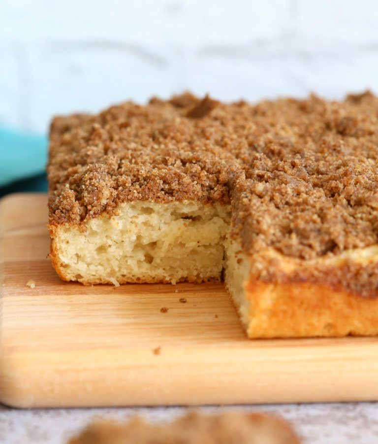 Cinnamon Streusel Cake Recipe Vegan Sweets Pinterest Coffee
