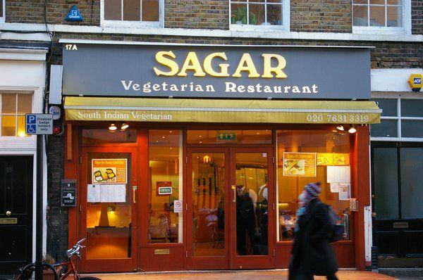 Sagar South Indian With Vegan Menu Covent Garden Vegetarian Restaurant Vegetarian London