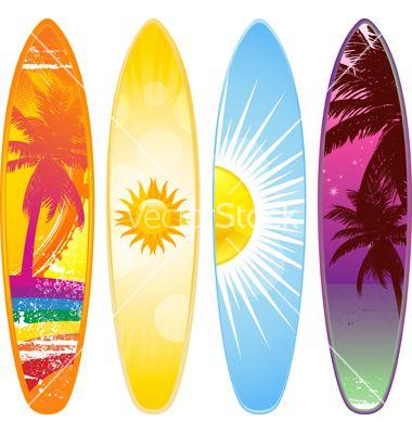 Surfboard vector png images galleries - Dibujos para tablas de surf ...