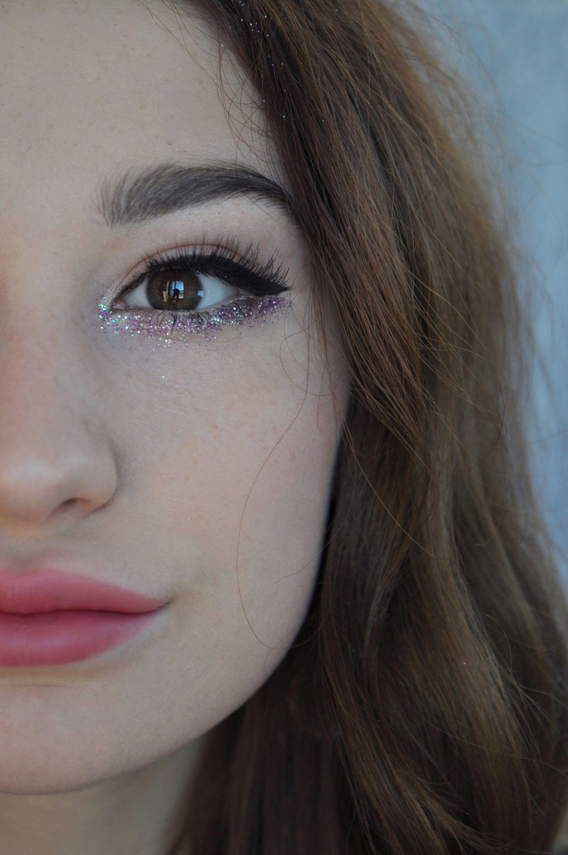 Augen Glitzer festival Augen makeup chanel couture makeup spring