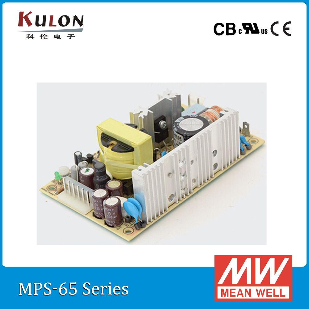 Original mean well 63W 15V 4.2A PCB Power Supply MPS-65-15 Meanwell ...