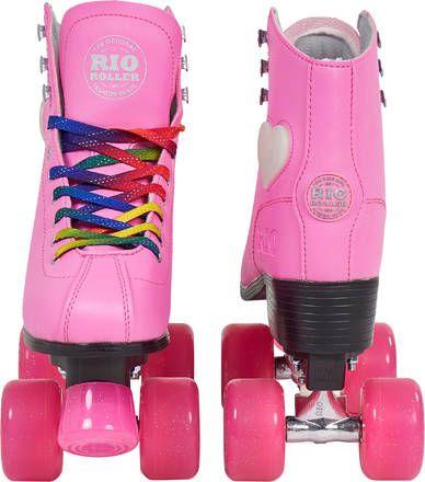 Rio Roller Artistic Lights Pink Quad Rullaluistimet, 39
