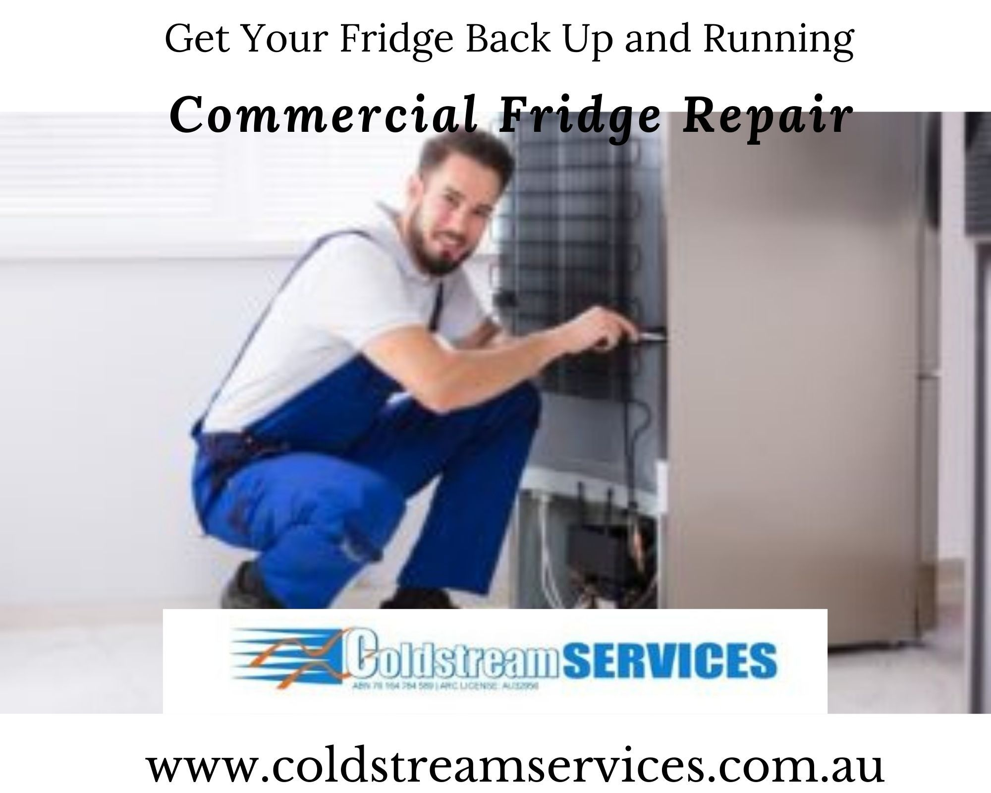 Has your fridge suddenly stopped working? Have an event