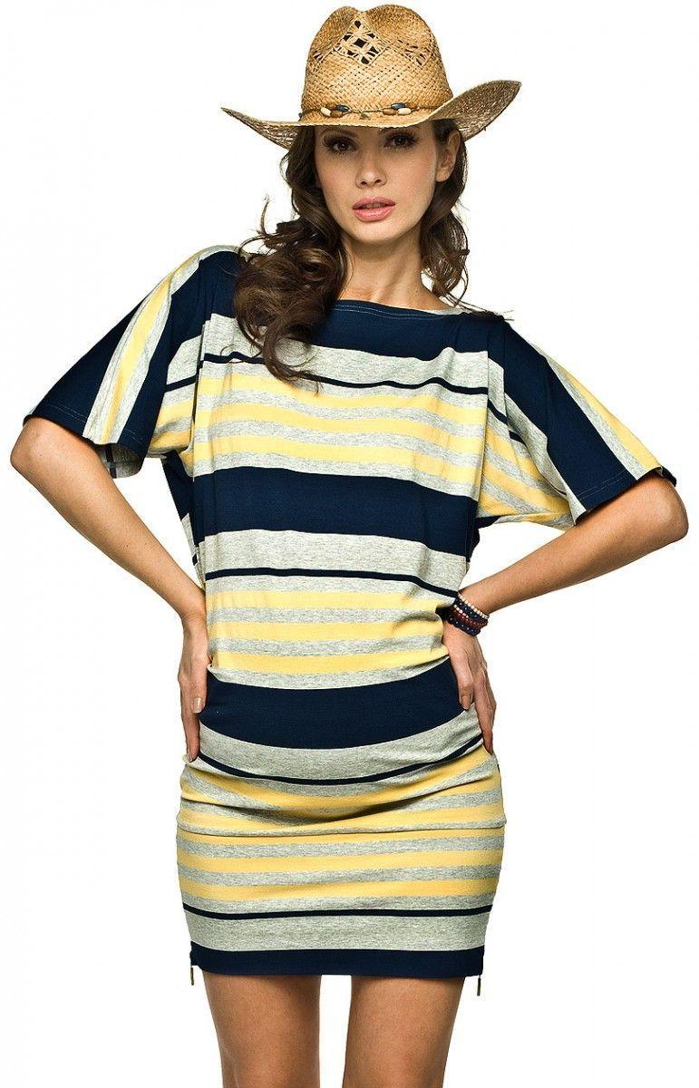 6ffafb3f6ca2e0 Torelle Aviano paski sukienka, sukienka ciążowa | Bielizna i odzież ...