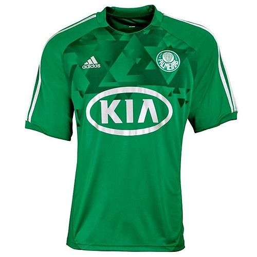 The New Adidas Palmeiras Authentic Home Jersey 2012 Comes With A