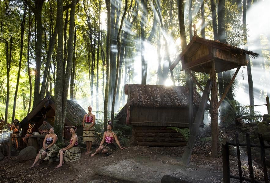 Maori Village: Maori Village - Google Search