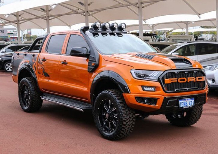 Taniana K Ford Ranger Wildtrak Ford Ranger Modified Ford Ranger