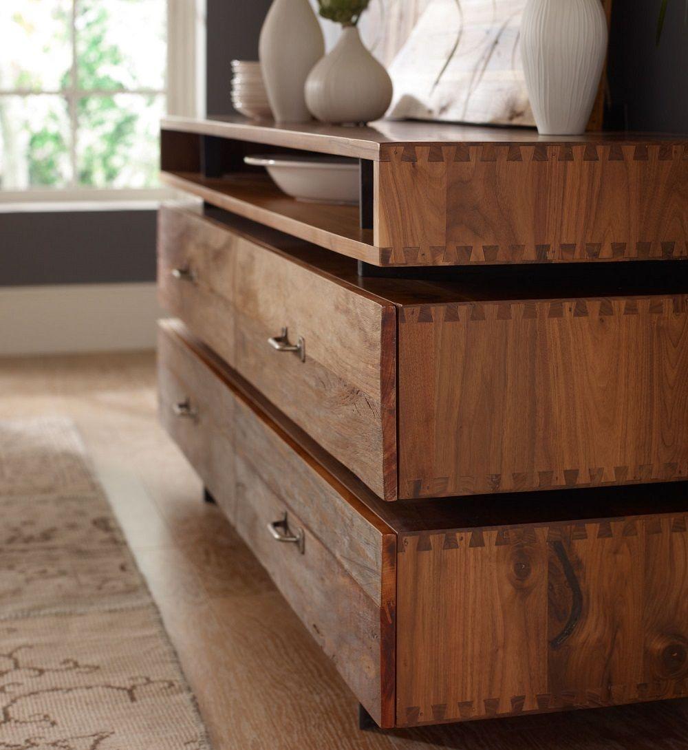 High Quality Bina Sydney Reclaimed Wood 4 Drawer Media Dresser (http://www.zinhome