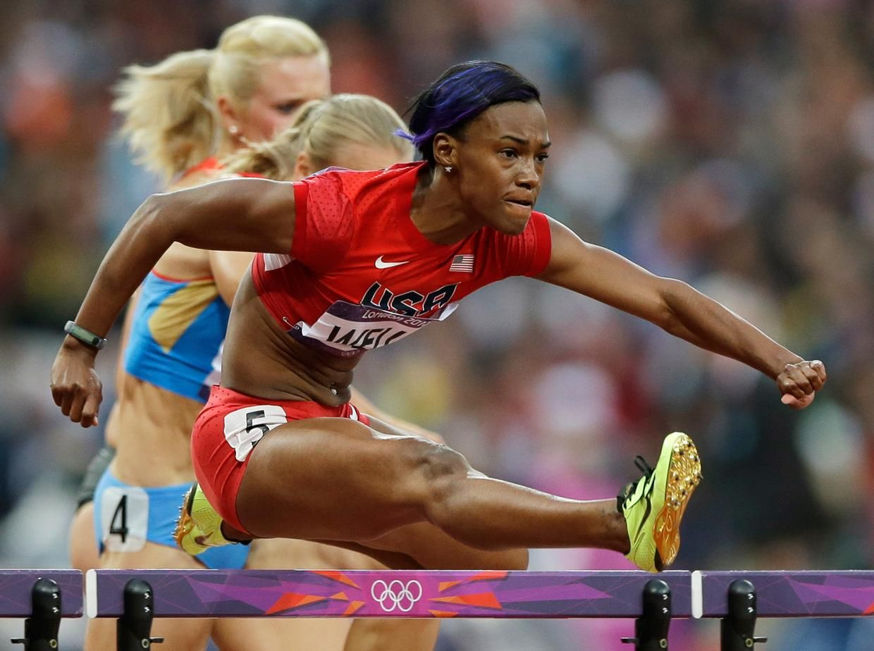 Kellie Wells - Track and Field; Most Significant Sports Accomplishment: Olympic Bronze Medalist