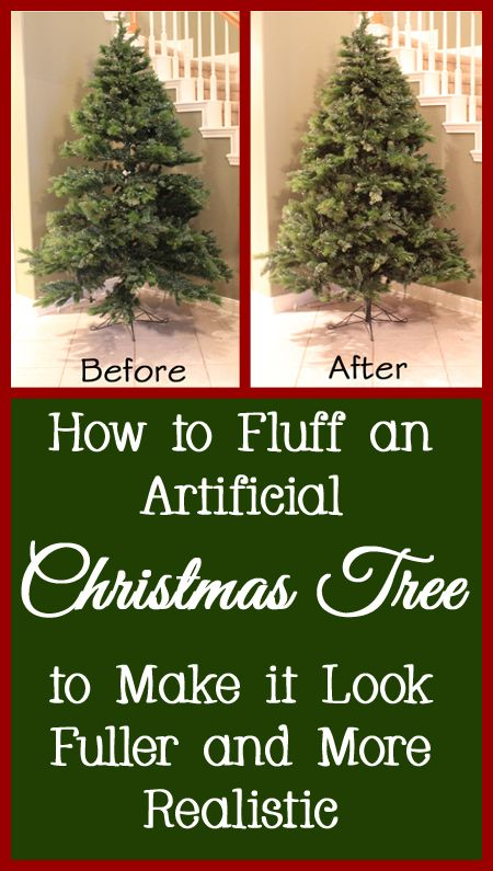 How To Fluff An Artificial Christmas Tree Into The Correct Shape Fake Christmas Trees Christmas Tree Decorations Christmas Decorations