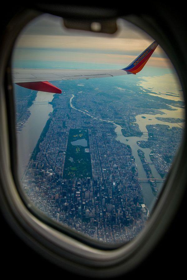 Central Park From The Sky By Krzysztof Hanusiak On 500px New York Usa Central Park New York City York