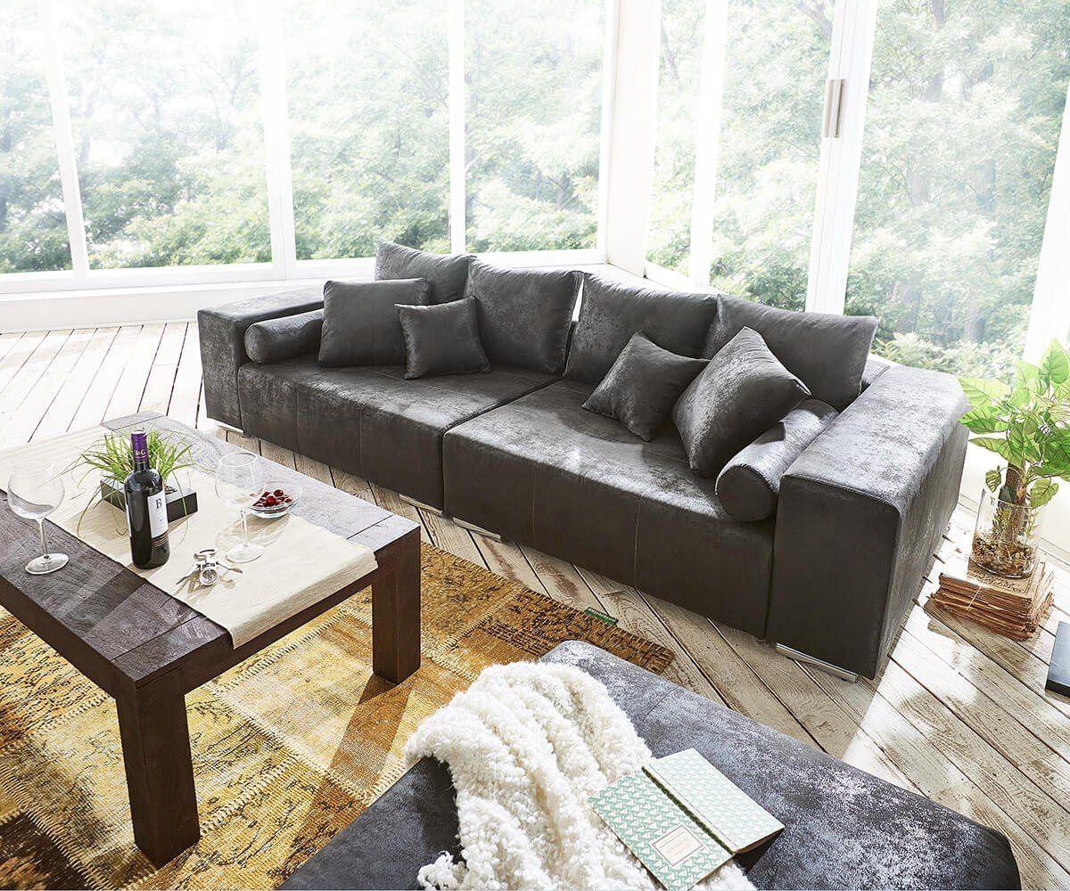 Xxl Couch Marbeya Mit Kissen Bigsofa Mit Bildern Xxl Couch