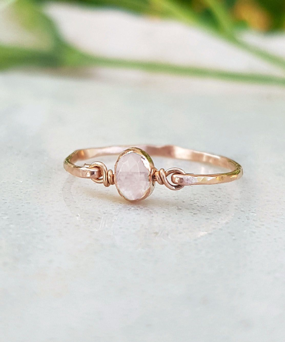 6x12 mm Marquise Pink Opal Copper Ring Statement Rings Pink Opal Gemstone Ring Valentine/'s Day Ring Women Rings Pink Opal Ring