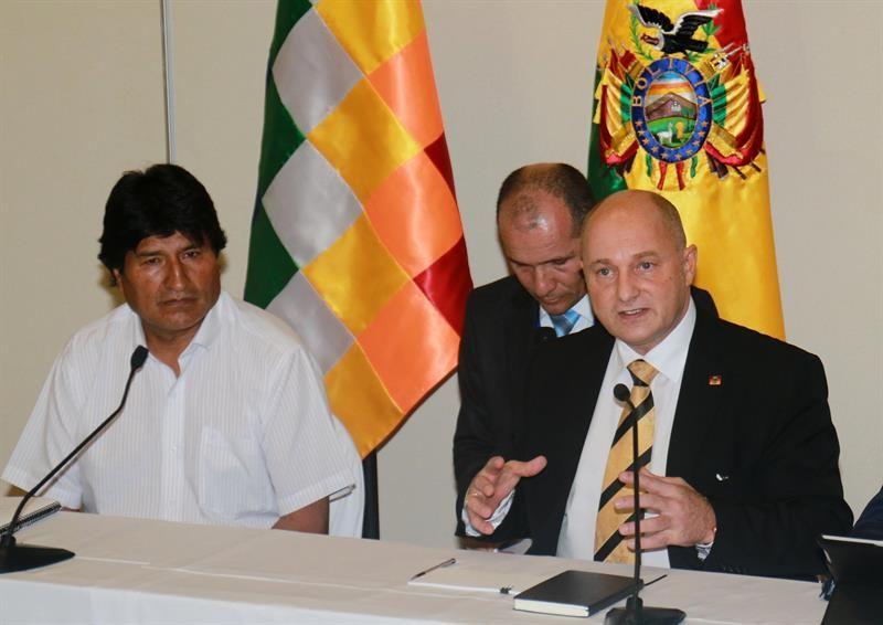 Resultado de imagen para bolivia y alemania litio