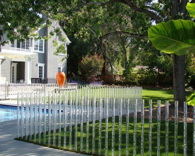 Clôture de jardin originale en cinquante idées captivantes