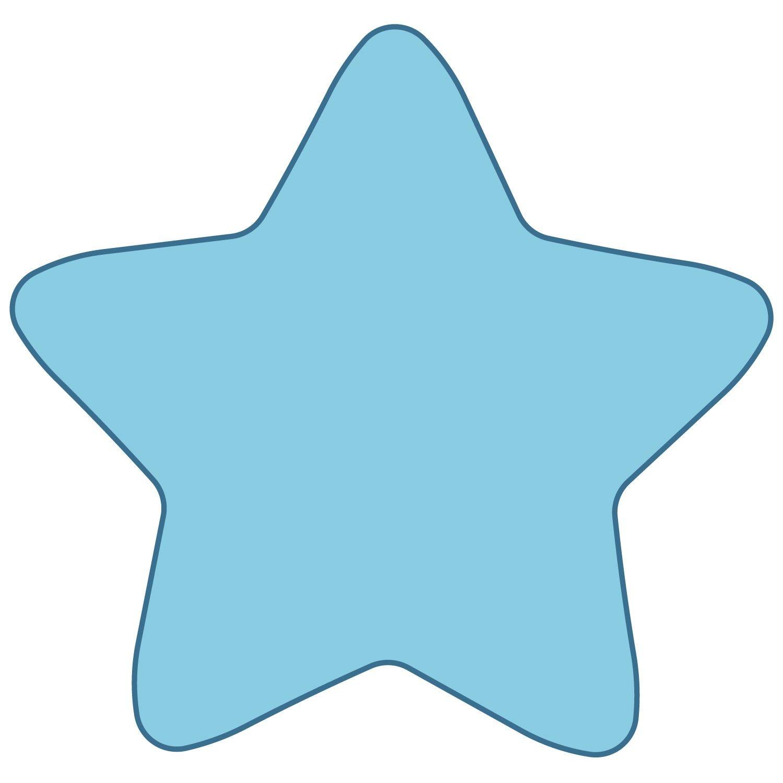 Studio Star 2 Large Star Template Fabric Stars Clip Art