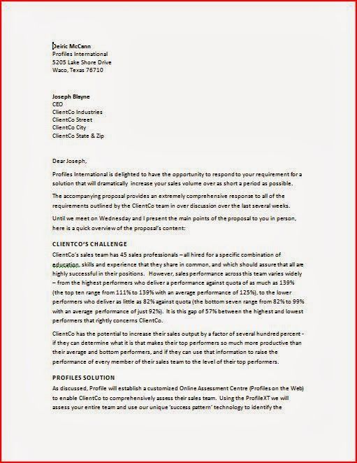 letter official acceptance business letters format placing order - Business Proposal Letter Format