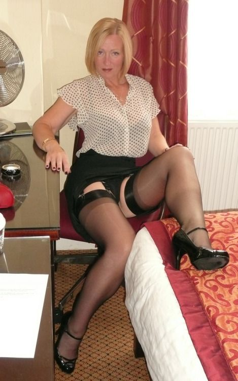 British mature stockings