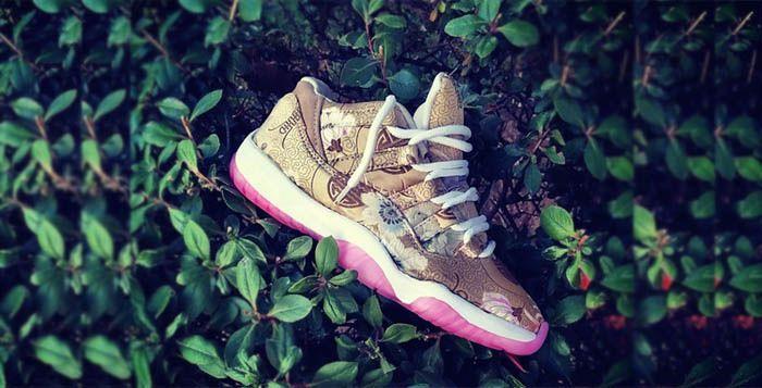 2015 Nike Air Jordan 11 Low Dirty Snakeskin Custom | Phoenix