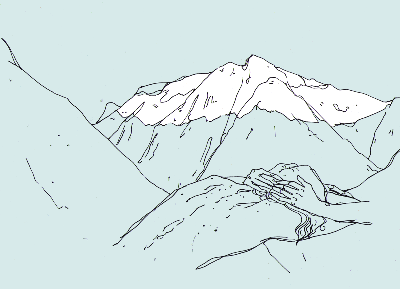 Mountains Drawing Tumblr | Www.imgkid.com - The Image Kid Has It!