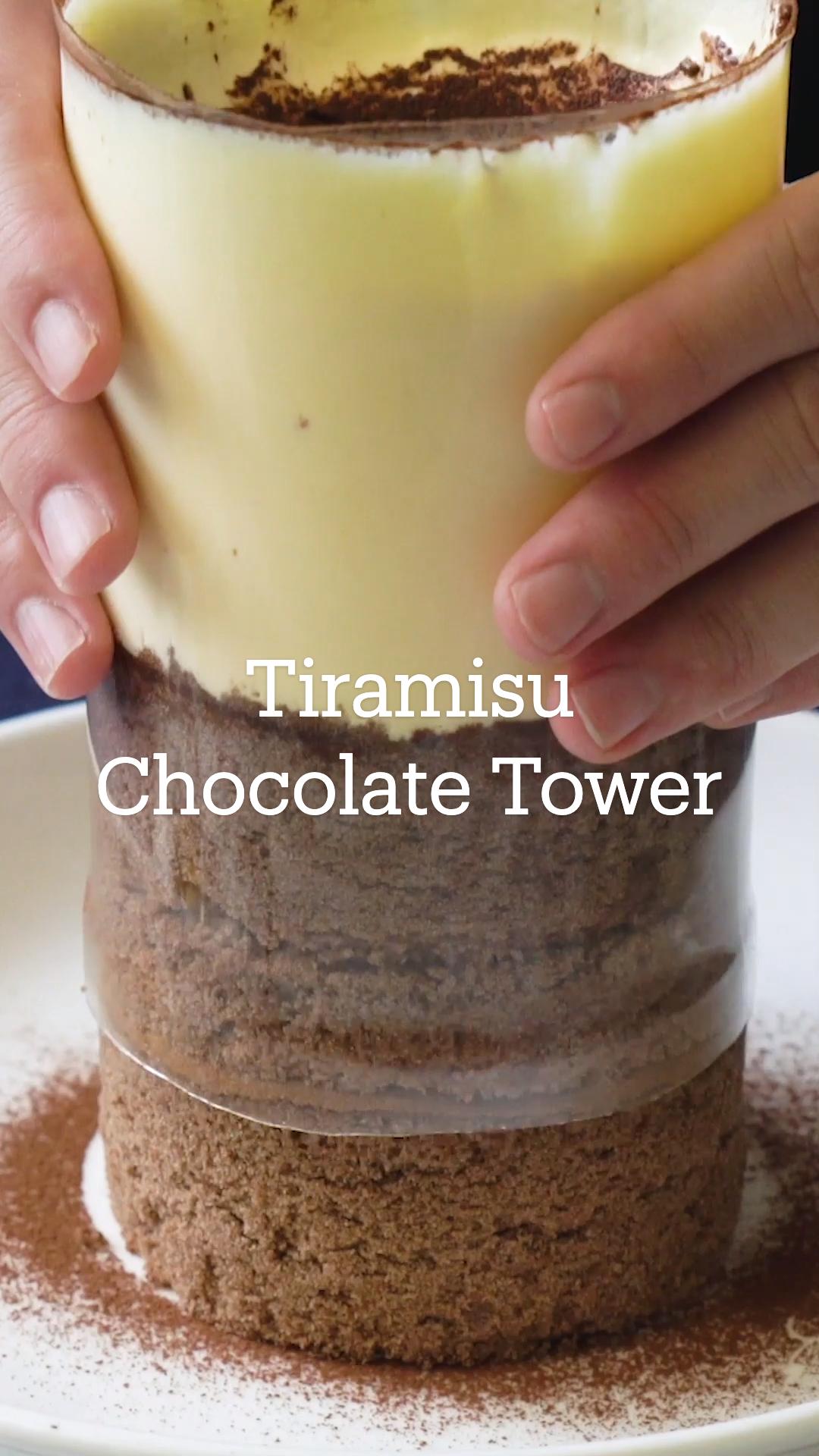 Tiramisu Chocolate Tower