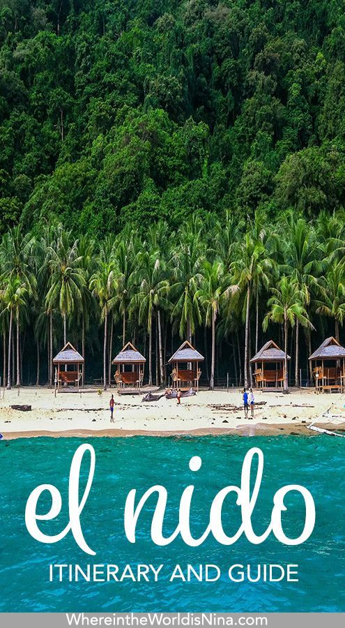 Things to Do in El Nido A Guide to 35 Days in the Philippine Paradise is part of Things To Do In El Nido A Guide To   Days In The - if you're wondering what to do in El Nido, here it is! When choosing the things to do in El Nido, there are few things you CAN'T miss, check this out