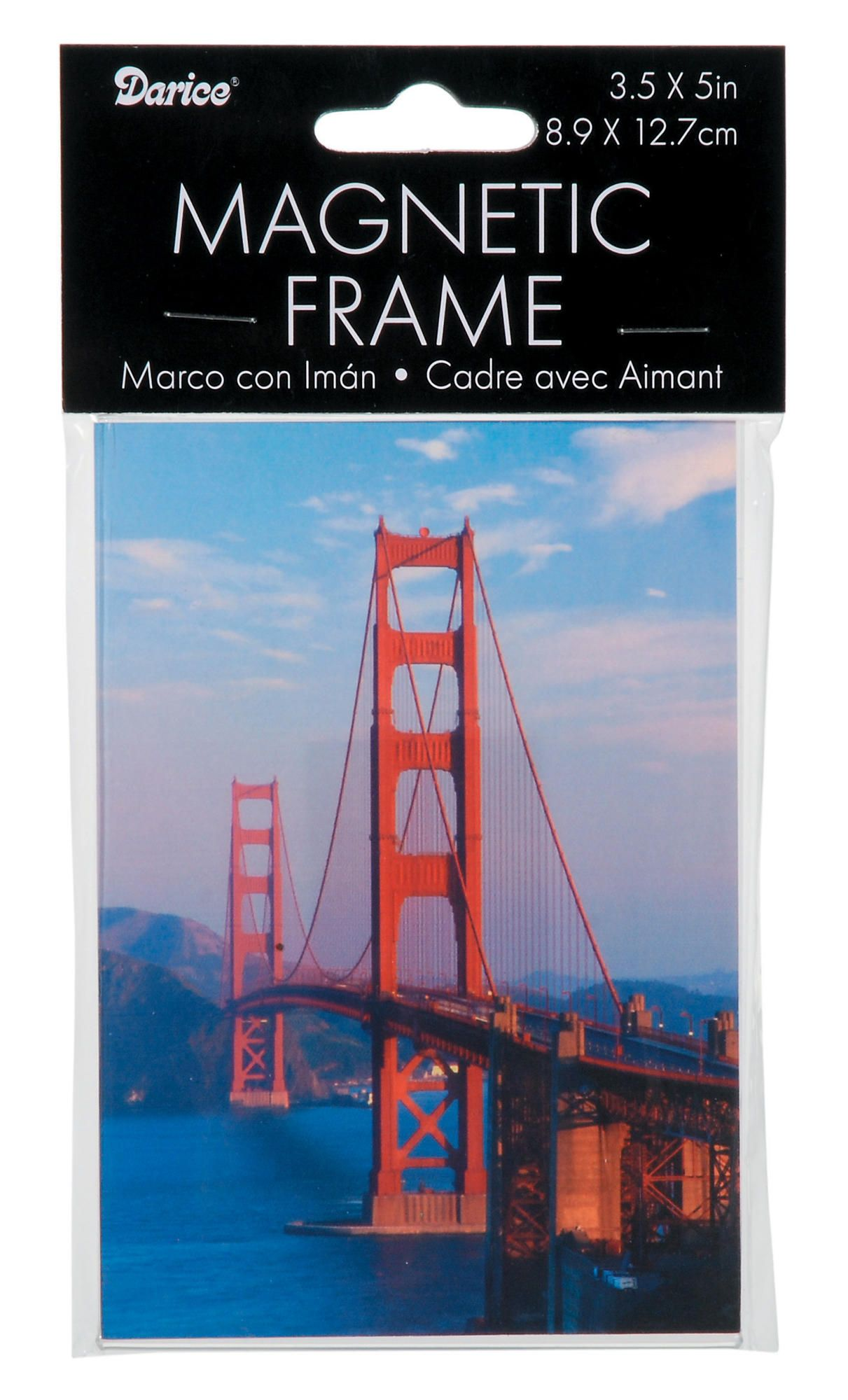 """Clear Acrylic Picture Photo Magnetic Frame 3.5/""""/' X 5/"""""""