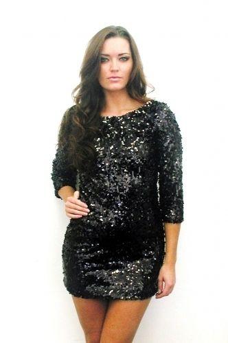 Black Sequin Dress Plus Size Hobitfullring