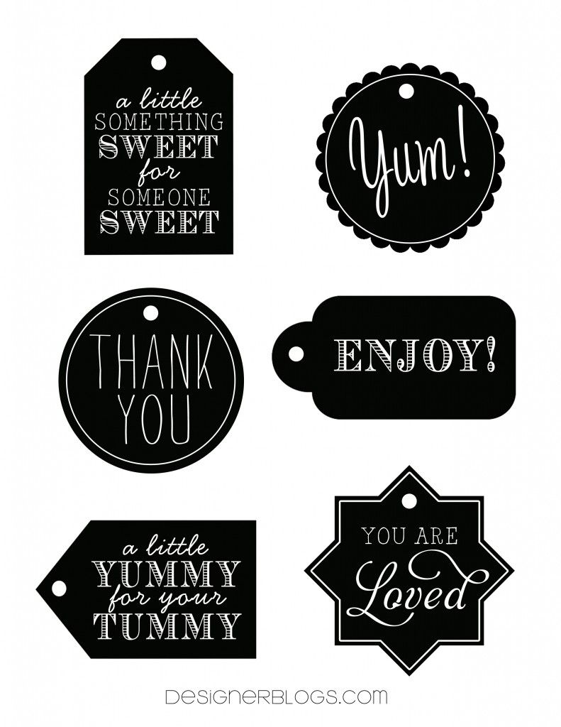 Designer Blogs free printable tags from designer blogs. | diy ideas | pinterest