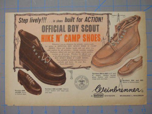 Boy Scout Hike N Camp Shoes