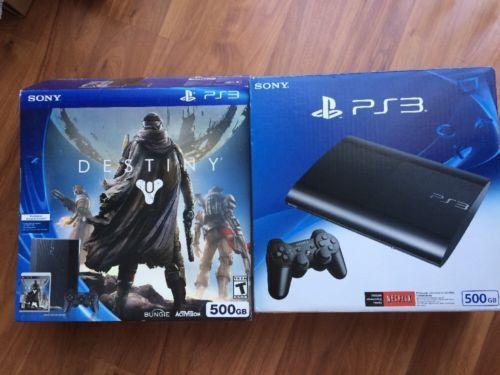 Sony PS3 500GB Destiny Game Bundle Black https://t.co/V71YgyfOtI https://t.co/pQIo2wU8fl