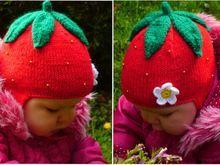Strickanleitung Für Kindermütze Erdbeer Häkeln Und Stricken