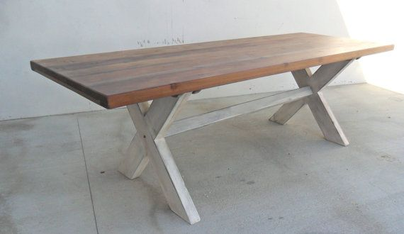 Our 8 Ft X Base Table Is Large Enough To Seat The Whole Family For