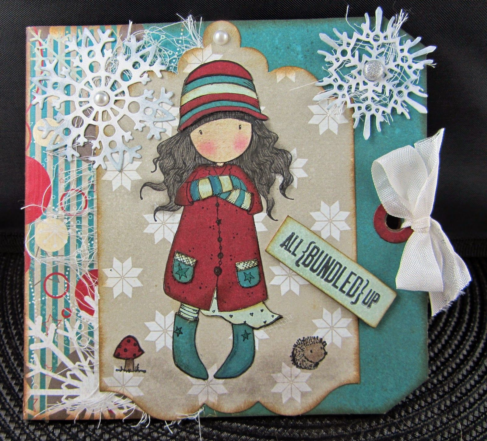 Scraps From A Broad: Gorjuss Girl Winter