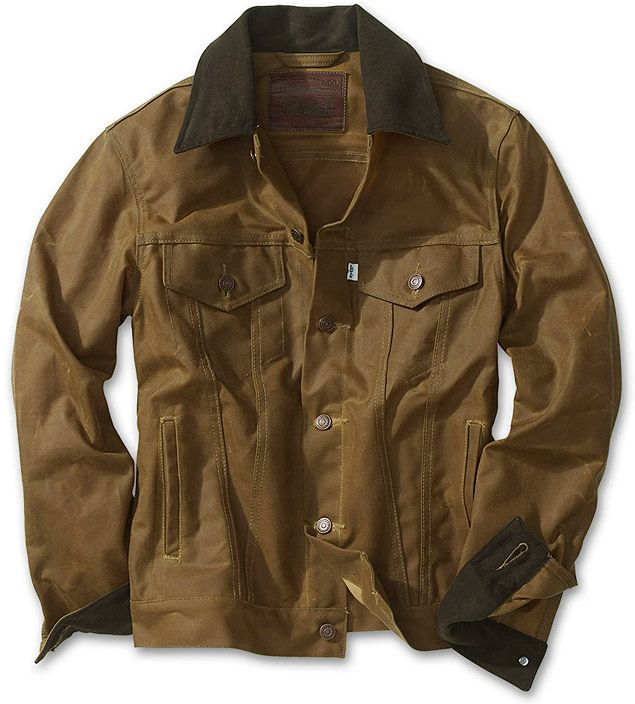 57ab14043 $190! Levi's Filson Oil Finish Trucker Jacket. Very handsome at a ...