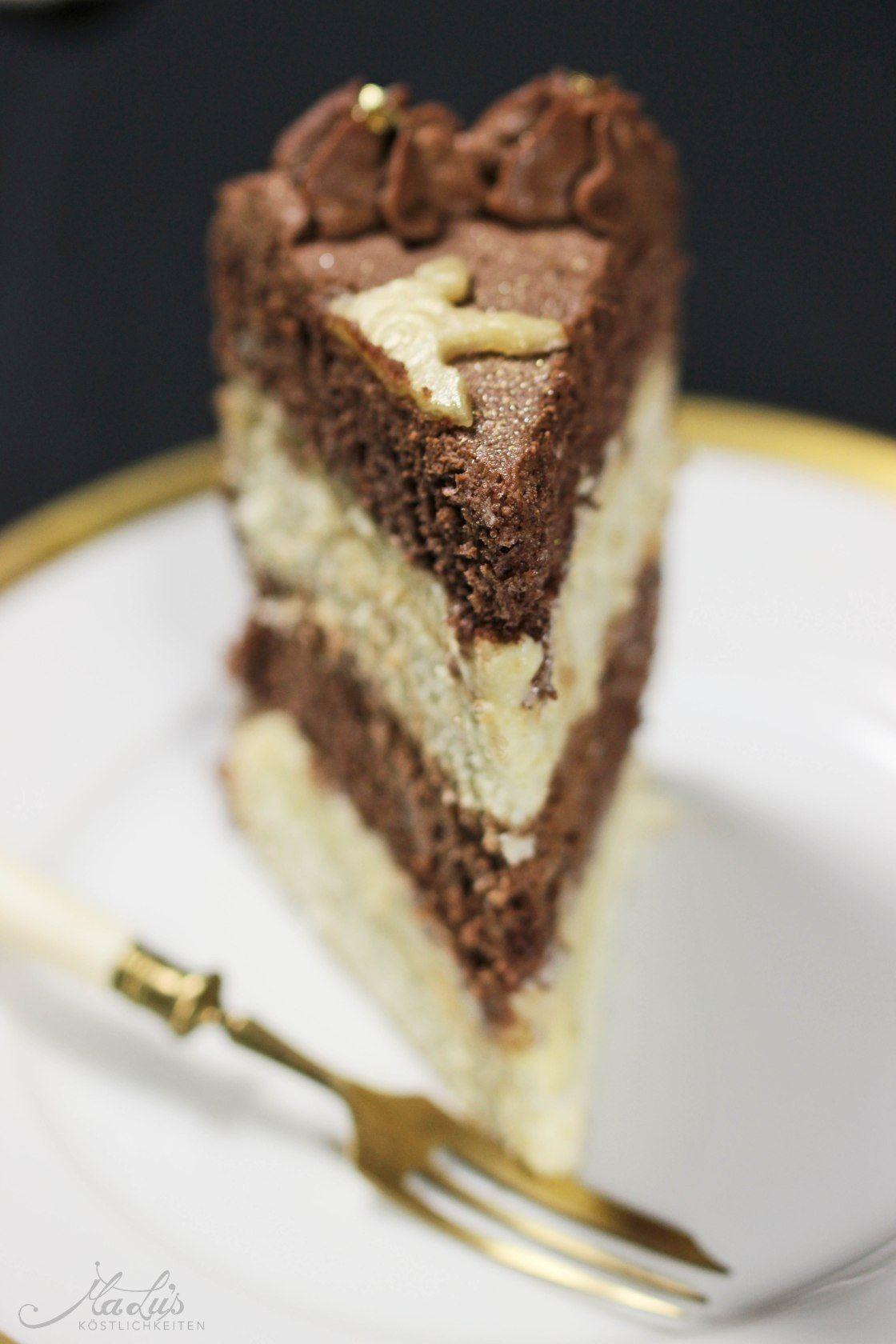 Schoko-Marzipan Torte - ich freu mich auf Weihnachten