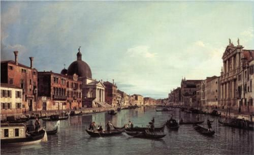 Grand Canal: Looking South West - Canaletto