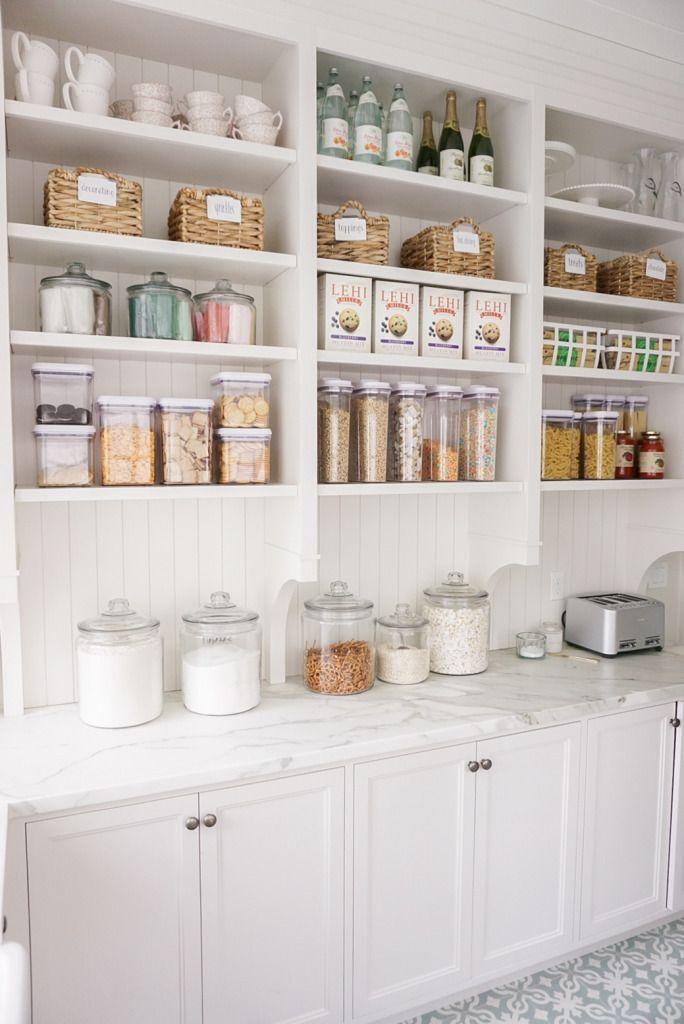 how i organize my pantry rach parcell in 2020 elegant kitchen design dream pantry on kitchen organization elegant id=60751