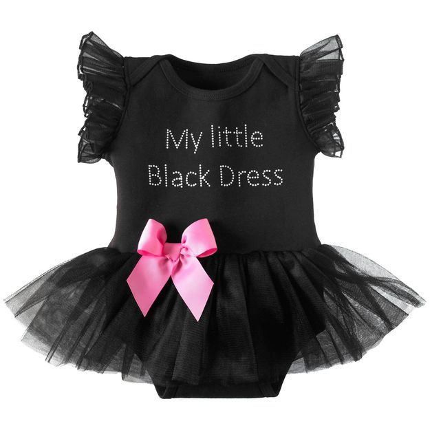 4d98974cf My Little Black Dress Onesie, 12-18 Months | Kidzville | Girls black ...