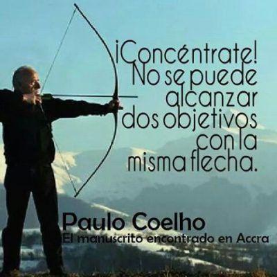Frases Cortas De Reflexion De Paulo Coelho Concentracion Educacion
